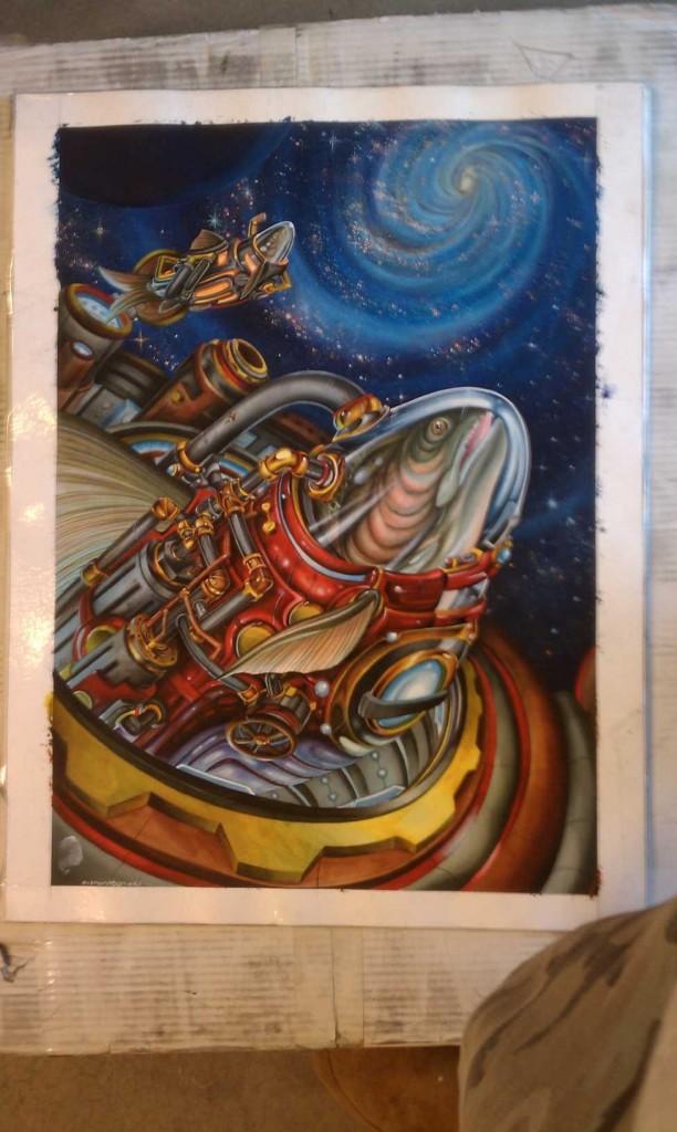 Astronaut Fish