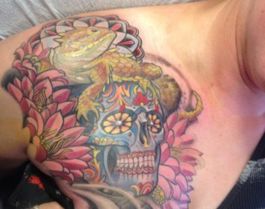 Color Sugar Skull